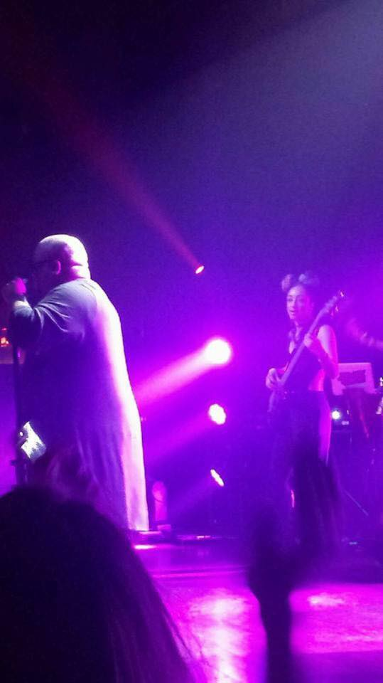 On Stage with Cee Lo Green